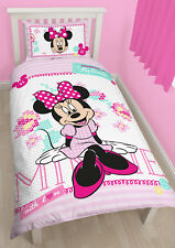 Minnie Mouse Handmade Single Duvet Quilt Cover Duvet Kids Bedding Set Polycotton