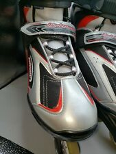 Bladerunner Pro 80 Rollerblades Inline Skates Size 13 Black & Red