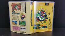 Super Mario World for Super Famicom Case and Artwork *NO GAME*