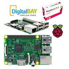 Mini Pc Computer Raspberry Pi 3 (2016) Model B, 1GB RAM, WiFi e Bluetooth BLE