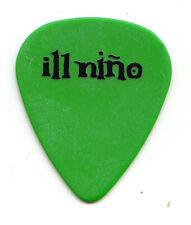 Ill Nino Single-Sided Green Tour Guitar Pick
