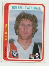 1979 Scanlen football card Russell Tweedale  Stkilda card no 20 Excellent