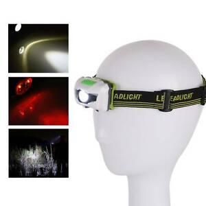 Super Bright Waterproof Head Torch Headlight LED Headlamp Fish