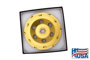 "7 "" (Slip-On) Spike PCD Cupwheel Cupwheel Polycrystalline Grinding Disc"
