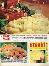 B- Publicité Advertising 1966 La Purée Stocki Knorr