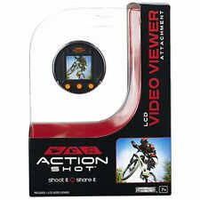 Action Shot LCD Video Viewer Camera Attachment Brand New Sealed By Jakks Pacific