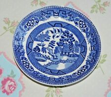 Alfred Meakin Old Willow Willow Pattern Saucer. 14 cms Diameter. Qty Available.