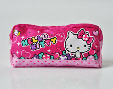 Cute Hello Kitty Pencil Bag Ball-point Pen Bag School Kids Stationery Pink