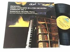 PROKOFIEV NM Richter Ancerl Piano Concerto in A Symphony No. 7 Prague Sviatoslav