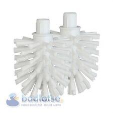 2x Smedbo WC-RICAMBIO-spazzole testa bianco CABIN Moon Home Loft SPA STUDIO VILLA h234n