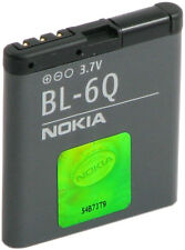 ORIGINAL Nokia Akku BL-6Q für Nokia 6700 Classic, Gold Edition, Batterie 970mAh
