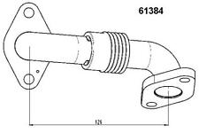 Brand NeW EGR pipe AUDI A3 SEAT ALTEA LEON TOLEDO SKODA OCTAVIA SUPERB 1.9 TDI