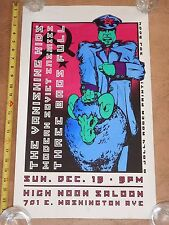 ORIGINAL 2004 MODERN SOVIET ENEMIES, THE VANISHING KIDS CONCERT POSTER