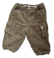 H & M L.O.G.G. Corduroy Trousers Age 6-9 Months Slacks Pants for Boys-Beige new