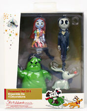 NIGHTMARE BEFORE CHRISTMAS NEW Disney MINI Sketchbook Ornament Set SKELLINGTON