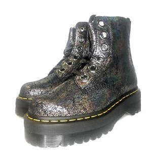 Dr. Martens Molly Crackle Boot Size 8