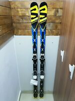 Salomon GS X Race 173 cm Ski + BRAND NEW Atomic ELithium Bindings Winter Outdoor