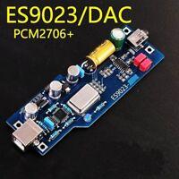 PCM2706 + ES9023 fever level audio DAC sound card / decoder Assembled board