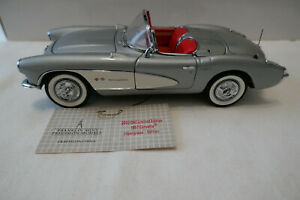 Franklin Mint 1957 Corvette Diecast Club LECC IV