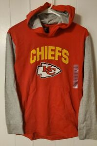 Youth Boys Kansas City Chiefs Lightweight Hoody L 14-16
