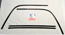 1971 Charger SE R/T Super Bee rear exterior window trim textured stainless black