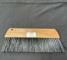 Kraft Tool Usa Concrete Finishing Broom 12 Wood Curb Brush Cc169 New Old Stock