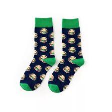 Happy Gift Socks Girl Unisex School Mini Burger Socks Christmas Causal Fun Socks