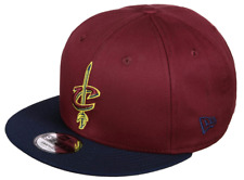 NEW ERA CONTRAST TEAM 9FIFTY CLEVELAND CAVALIERS. RED