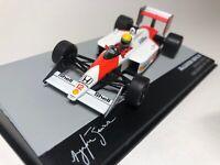 Ayrton Senna 1:43 Mclaren MP4/4 #12 Champion Formula 1 1988 San Marino GP Altaya