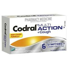 CODRAL MULTI ACTION + COUGH 48 CAPSULES RELIEF FROM 6 COLD & FLU SYMPTOMS