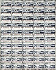 1960- First Automated Post Office - Full Mint Nh Sheet of 50 U.S. Postage Stamps