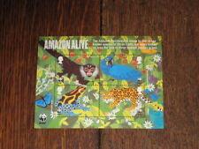 GB 2011 Miniature Sheet MS3172 - Amazon Alive WWF World Wildlife Fund - Mint