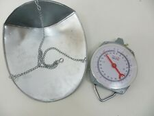 22lb Hanging Scale w/ Scoop Basket Tray (Scratch & Dent Tray) Garden Scale