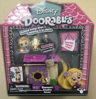 Disney Doorables Rapunzel's Tangled Creative Corner Action Figure Set NEW SEALED