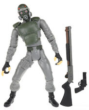 "Resident Evil 2 Platinum HUNK 5"" Complete Action Figure ToyBiz 1998"
