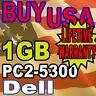 1GB 5300 Dell Dimension C521 E520 XPS 600 Memory Ram