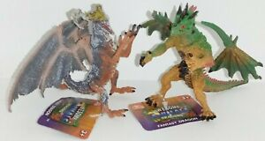 Addo Fantasy Dragons Awesome Animals Duo Pack Dragon Figure Toy  D2