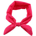 Bébé Enfant Mignon Fille Enfants Bow Hairband Turban Knot Rabbit Bandeau