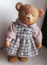 Kleiner Teddy / BärenMädchen von RUSS - 90er Jahre - Höhe ca. 12 cm