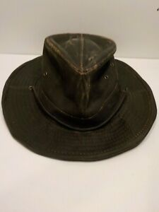 DPC Outdoor Design Men's Weathered Cotton hand made xl Hat