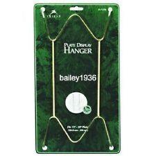 """15"""" -30"""" Plate Hanger BRASS Large Display Easel Tripar 23-1325"""