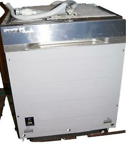 Samsung DW60J9950SS Geschirrspüler Spülmaschine teilintegrierbar  grau W26