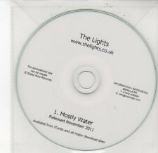 (DD601) The Lights, Mostly Water - DJ CD