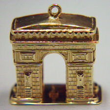 14k gold vintage BEST EVER ARC DE TRIOMPHE charm