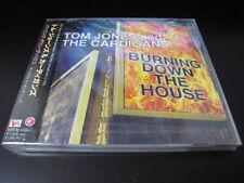 Tom Jones Cardigans Burning Down Japan CD Single w OBI Factory Sealed New Promo