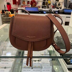 Marc Jacobs  Maverick Saddle  Bag Leather $350 NWT -BROWN BEAR- NewColor!