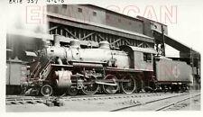 8G619 RP 1939 ERIE RAILROAD 4-6-0 ENGINE #957 JERSEY CITY NJ