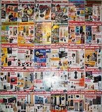 30 Ausgaben Klang + Ton - Das Lautsprecher-Selbstbau-Magazin (2000 bis 2017)