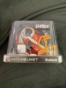 Brand New Washington Redskins 2018 Chrome Mini Helmet Limited Edition In Box