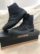 Converse All Star Chuck Taylor Shoes Mens 6 US Womens 8 One Star All Black [CS2]